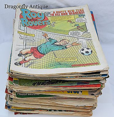 Vintage Job Lot 120 Issues of Roy Of The Rovers Football Magazines 80s