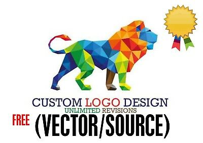 Professional Custom Logo Design + Unlimited Revision + Vector File