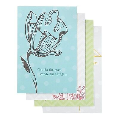DaySpring Boxed Thank You Greeting Cards W Embossed Envelopes