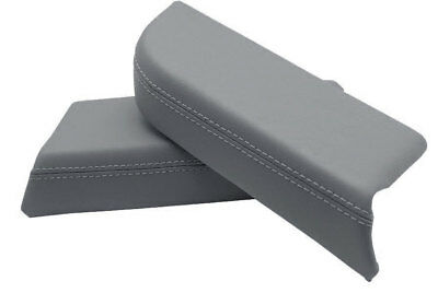 Door Panel Armrest Leather Synthetic Cover for Honda Pilot 09-15 Gray