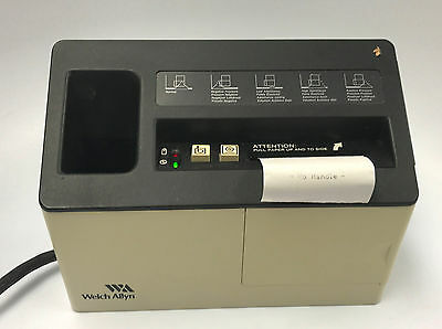 Welch Allyn Microtymp  Tympanometer 71130 Charger / Printer
