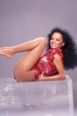 Diana Ross 8x10 to 24x36 Photo Poster Canvas Wall Adhesive by LANGDON HL327
