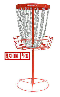 NEW Axiom Discs Pro Disc Golf Basket - Red