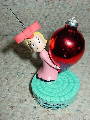 Dr. Suess Little Cindy Lou Who Was Not More Then Two Figure The Grinch