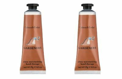 Crabtree & Evelyn Hand Therapy - 2 x 25g Hand Therapy - GARDENERS - NEW
