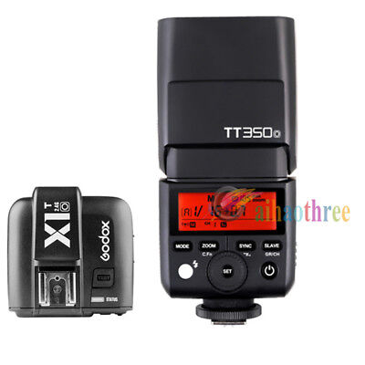 Godox TT350O TTL HSS 1/8000s Flash Light + X1T-O Trigger For Olympus Panasonic