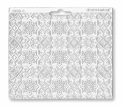 Staedtler Fimo Single ORIENTAL Texture Sheet Craft Art Fun 16.7cm x 14cm