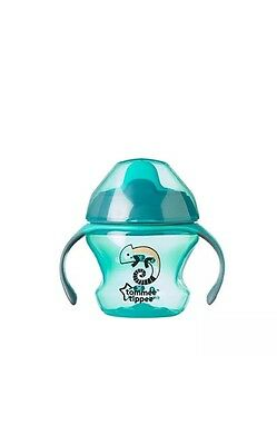 Tommee Tippee Sippy Cup Insulated Straw Sports Bottle Removeable Handles