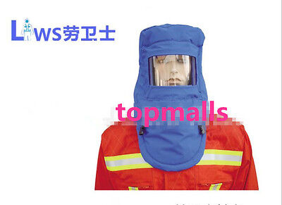 Anti-liquid Nitrogen Protective Hood Ultra-low-temperature Mask