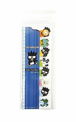 Sanrio Bad Badtz Maru XO Sticky Index Note Pad (170504-00) Registered Shipping