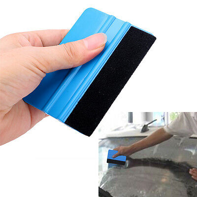 Car Sticker Wrapping Scraper 3M Felt Squeegee Glass Clean with Cloth Auto Care