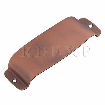 Bronze 120MM Center Screw Hole Pickup Cover Plate for J Bass Guitar