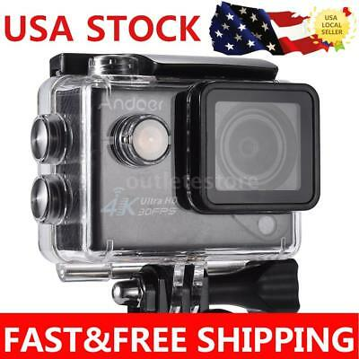 "Andoer 4K 1080P HD 2.0"" LTPS LCD Wifi Action Sports Camera Camcorder DVR OT H7O9"