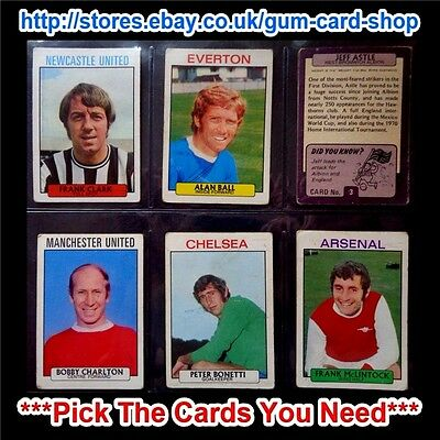 A&Bc 1971 Purple Back 1St Series (Fair) 1 To 54 *Pick The Cards You Need*