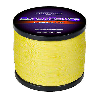 1000M KastKing SUPERPOWER BRAIDED FISHING LINE INCREDIBLE BRAIDED LINE