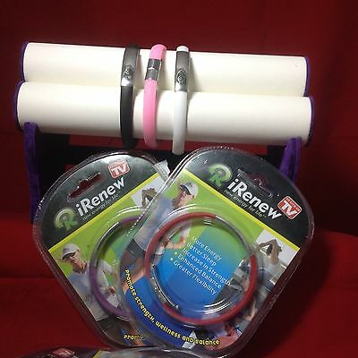 iRENEW-BRACELET-BRAND-NEW-in-blister-pack-Three-colours
