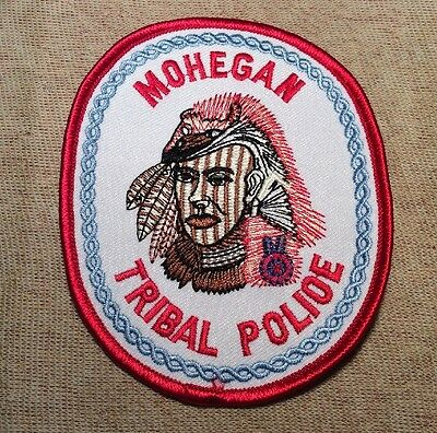 CT Mohegan Tribe Connecticut Tribal Police Patch