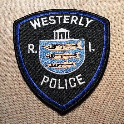 RI Westerly Rhode Island Police Patch