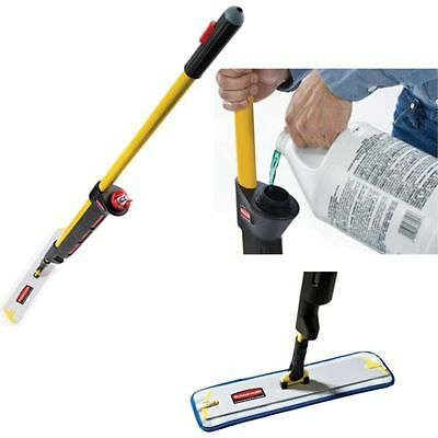 Rubbermaid Pulse Mop Kit Microfibre Cleaning Mopping Floor Office Microfiber Set