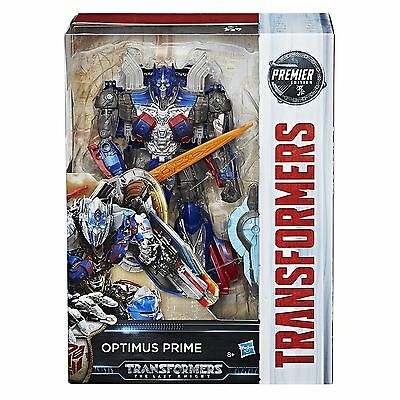 New Transformers The Last Knight Premier Voyager Class Optimus Prime Robot