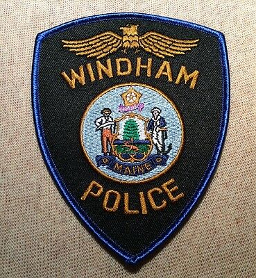 ME Windham Maine Police Patch
