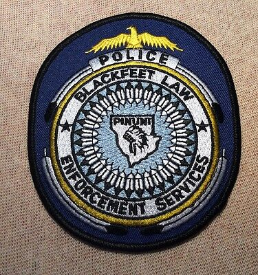 MT Blackfeet Nation Montana Police Services Patch