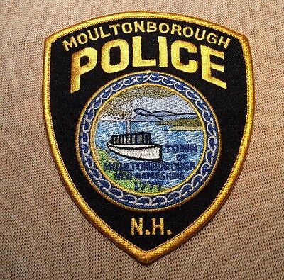 NH Moultonborough New Hampshire Police Patch