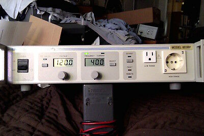 California Instruments 801RP-1F  AC Power Source GPIB RS232  800VA