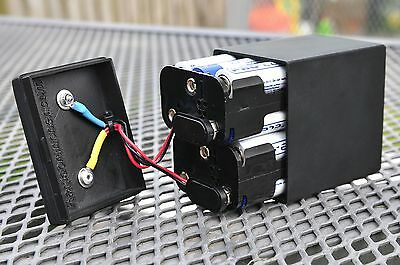 PP9 Battery Box - Holds Up to 12 AA Batteries For Super Long Life