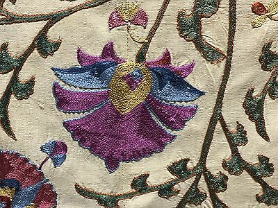 Gorgeous Large Suzani Hand Embroidered NEW