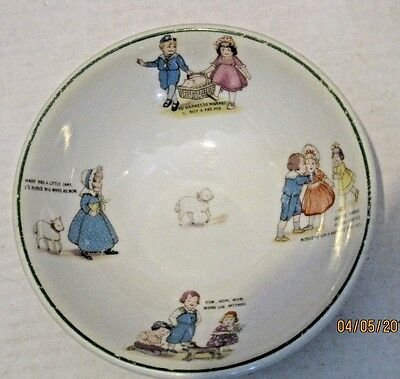 Shenango china nursery rhyme bowl