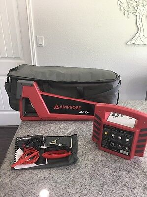 Amprobe AT-3500  Underground Cable and Pipe Locator. Very Nice