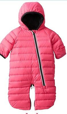 NWT Canada Goose baby Pup bunting   Pink   6m-12m