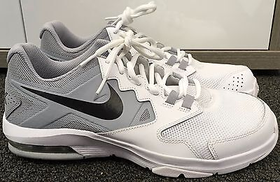 huge selection of 71315 4df04 Nike Men s Air Max Crusher 2 Cross Trainer White Wolf Grey Black ...