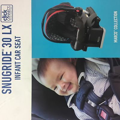 Brand New Graco Snugride Click Connect 30 LX, infant car seat w/ base - Marco