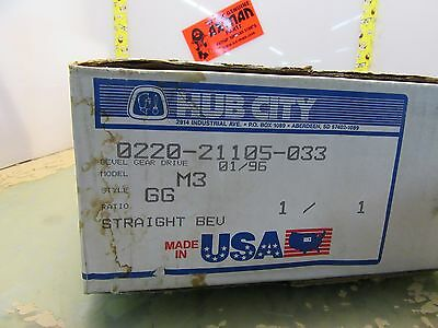 Hub City 0220-21105-033 bevel gear drive M3 GG 1/1 [3*F-6]