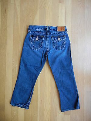 True Religion Jeans Size 10 Boys Billy Girls Capris Cropped