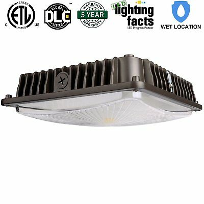 45w LED Ceiling Canopy Light Waterproof Fixture [200w Equivalent] 4200lm 5000K