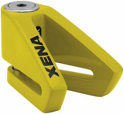 Xena Security X2 Disc-Lock with 14mm Pin Yellow