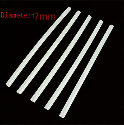 10Pc 7Mm Adhesive Glue Sticks For Corded Cordless Hot Melt Heated Glue Clear Ta