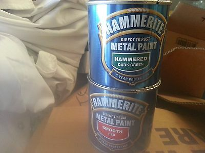 Hammerite 250Ml Direct To Rust Metal Mix Colour Paint