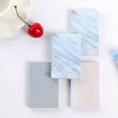 Post-it Note Paper Creative Marble Notebook Marker Sticker Memo Sticky Notes