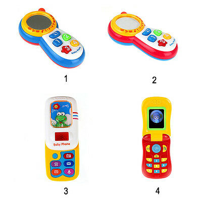Newborn Baby Kids Musical Sound Toy Learning Phone Studying Educational Toys