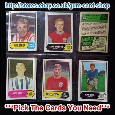 A&Bc 1969 Green Back - 2Nd Series (Good 65 - 117) *Pick The Cards You Need*