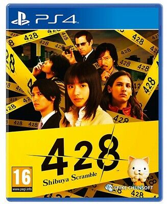 Videogioco 428 Shibuya Scramble Ps4 Gioco Thriller Play Station 4 Sigillato