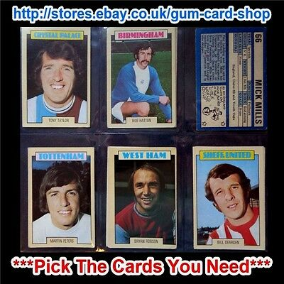 A&Bc 1973 Blue Back 1St Series (Good 64 To 131) *Pick The Cards You Need*