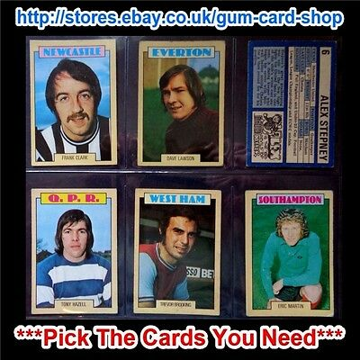 A&Bc 1973 Blue Back 1St Series (G/F 1 To 131) *Pick The Cards You Need*