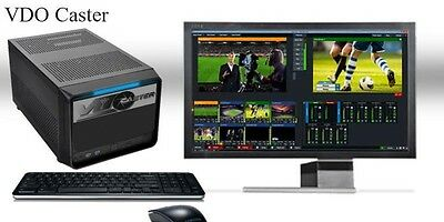 Live video and audio production switcher and streamer design service