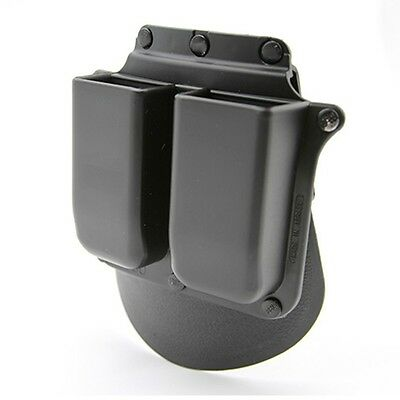 Military 6900 Paddle Double Mag Magazine Pouch For Glock 9mm .40 .357 .45 G.A.P