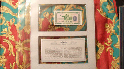 *Most Treasured Banknotes Albania P 40a 1976 1 Lek UNC